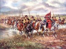 Опис : Конотопська битва - Козаки 17 століття