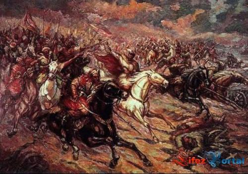 Опис : атака козаків під Конотопом